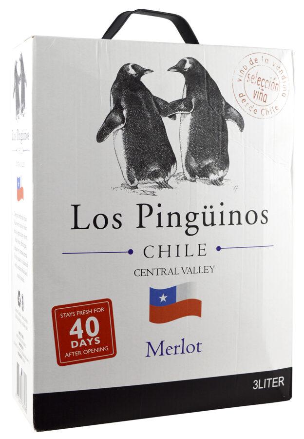 Los Pinguinos Merlot  12,5%  3,0l
