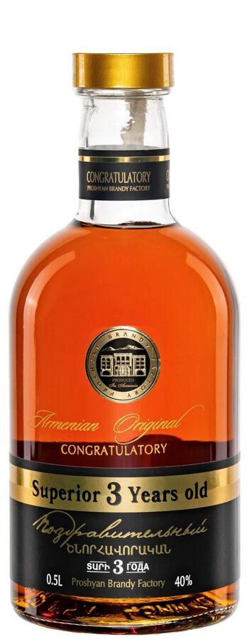 Armenian Original Superior 3YO   40%  0,5l