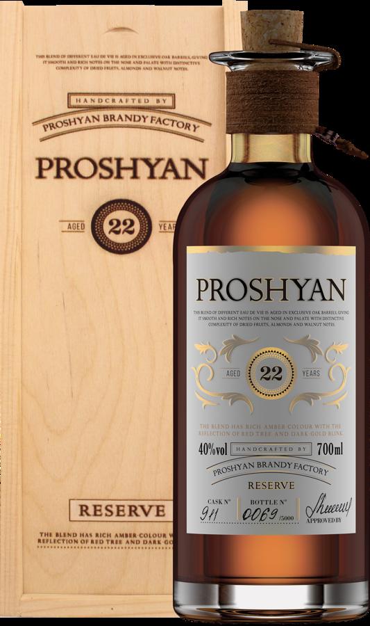 Proshyan 22YO 40% 0,7l