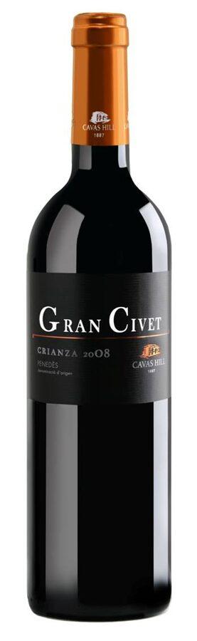 Gran Civet Hill Crianza  12,5%  0,75l