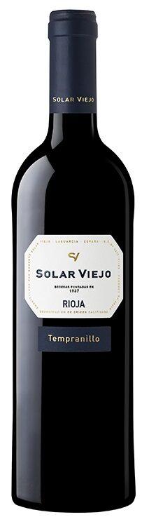 Solar Viejo Tempranillo   13,5%  0,75l