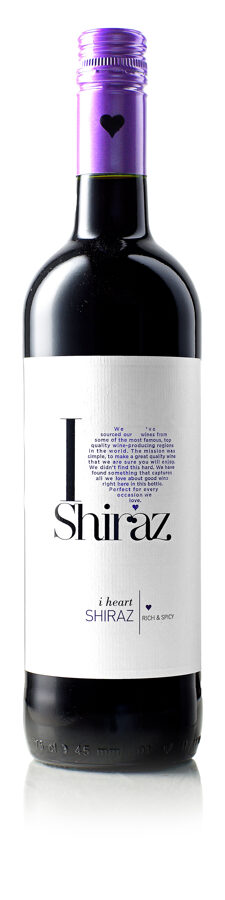 I Heart Shiraz  13%  0,75L