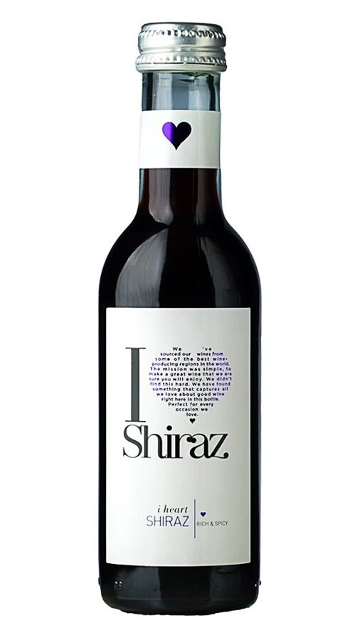 I Heart Shiraz  13%  0,187L