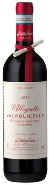Allegretto Valpolicella DOC     12%   0,75l