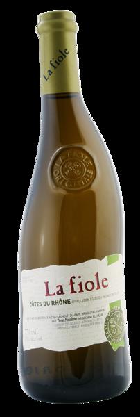 La Fiole côtes du Rhône white   13%  0,75l