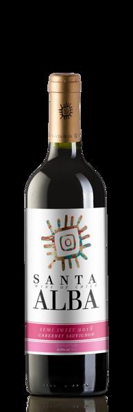 """Santa Alba Cabernet Sauvignon""""12,5%  0,75l"""