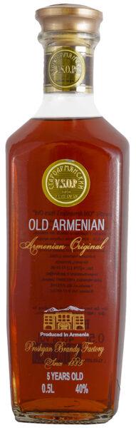Old Armenian 5YO  40%  0,5l