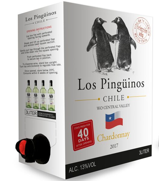 Los Pinguinos Chardonnay   12,5%  3,0l