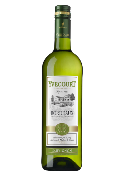 Yvecourt Bordeaux Sauvignon  12%  0,75l