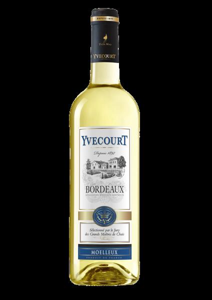 Yvecourt Bordeaux Moelleux  11%  0,75l