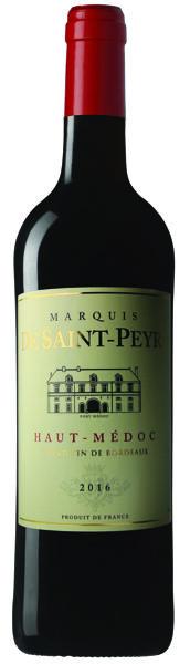 Marquis de Saint Peyre Haut Medoc   12,5%   0,75l