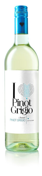 I Heart Pinot Grigio  11,5% 0,75L
