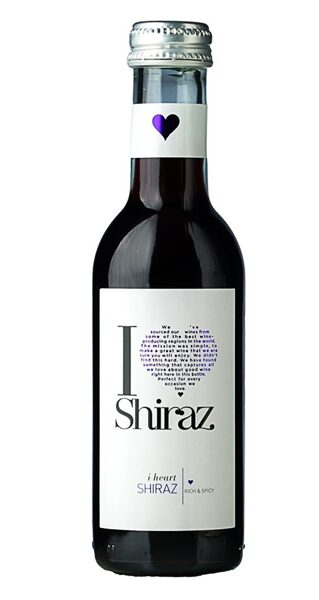 I Heart Shiraz  13%  0,187L