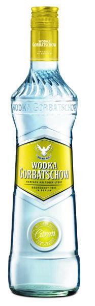 Gorbatschow Lemon  37,5%  0,7l