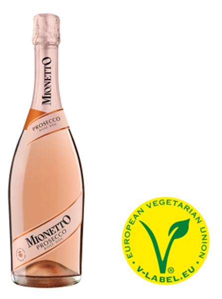 Mionetto Prosecco ROSE Extra Dry  D.O.C 11%, 0.75l