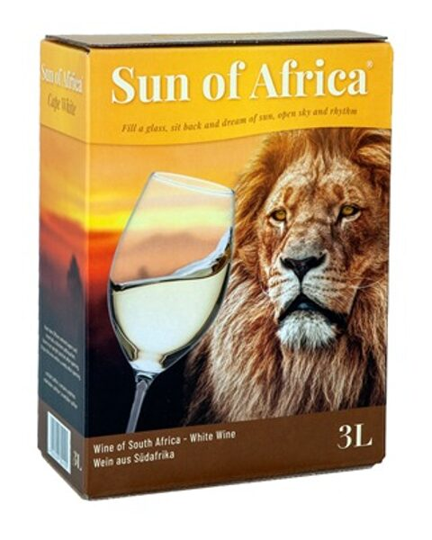 Sun of Africa White   12,5%   3,0l