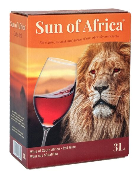 Sun of Africa Red     13%    3,0l
