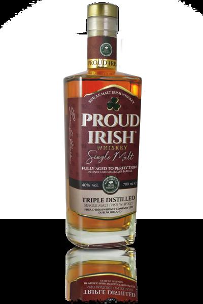 Proud Irish Single Malt   40%  0,7l