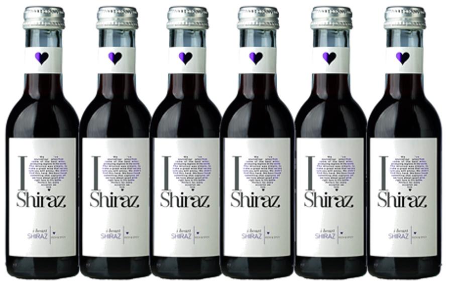 I Heart Shiraz  13%  0,187L  iepakojums 12gab.