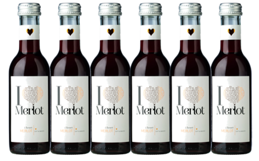 I Heart Merlot   12%   0,187l  iepakojums 12gab.