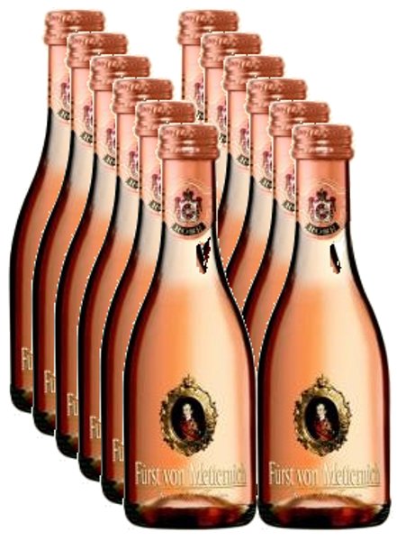 Furst von Metternich Rose 11,5%,  0,2l,  iepakojums 12gab.