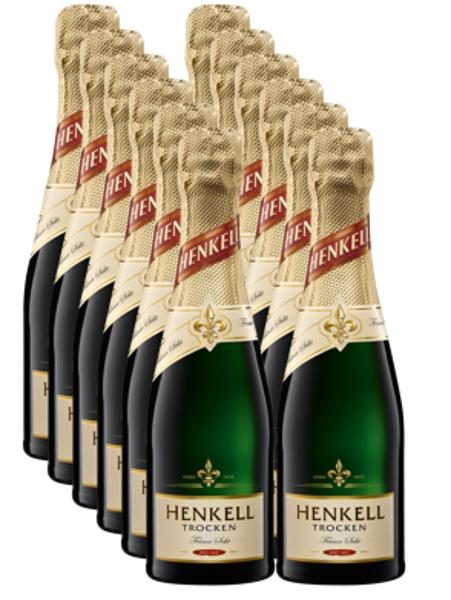 Henkell Trocken 11,5%  0,2l  iepakojums 12gab.