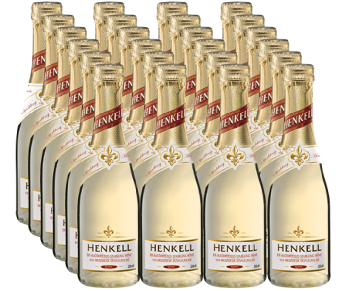 Henkell Bez Alkohol 0,2l,  iepakojums 24gab